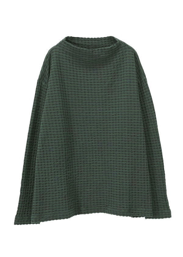 the high-neck sweater