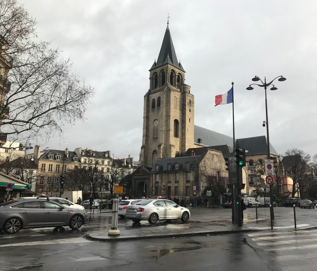 Image of Paris during fashion week